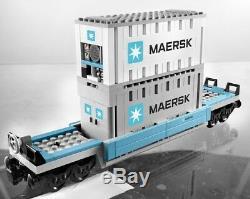 Lego City 10219 Maersk Cargo Train Neuf Dans La Boîte Étanche À La Retraite, Très Rare