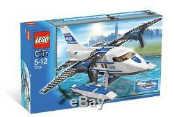 Lego City Police Pontoon Avion (# 7723) (retraité 2008) (très Rare) (nouveau)