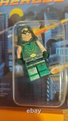 Lego DC Green Arrow 2013 Sdcc Minifig Mini Figure San Diego Comic Con Très Rare