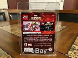 Lego Deadpool Sheriff Mini Figure Sdcc 2018 San Diego Comic Con Très Rare
