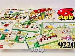 Lego Duplo Dacta Mosaic 9220 Scènes Agricoles Vintage Et Très Rare 100% Complet 1988