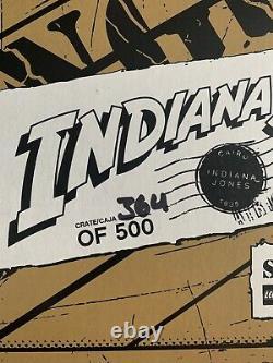 Lego Indiana Jones Brickmaster Pack 2008 Sdcc Exclusive 364/500 Nouveau Très Rare
