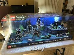 Lego Magasin Afficher Monster Fighters 4ft! Tres Rare Collection! Difficile À Trouver