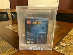 Lego Marvel Captain America Steve Rogers Minifigure 2016 Sdcc Afa 9,25 Très Rare