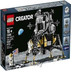 Lego Nasa Apollo 11 Lunar Lander # 10266 (scellé) (très Rare) Nouveau De Créateur