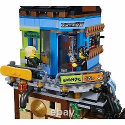 Lego Ninjago Film Ninjago City Docks (70657) Nouveau Original Emballé Très Rare