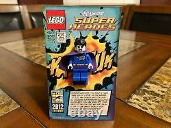 Lego Shazam Phoenix Bizarro Black Symbiote Spider Man 2012 Sdcc Très Rare