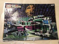 Lego Space Vintage Système Très Rare Monorail Transport Base De Train 6991 Complet