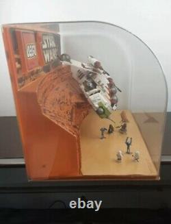 Lego Star Wars 7163 République Gunship 2002 Afficher Magasin Complet Très Rare