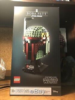 Lego Star Wars Boba Fett Casque (75277) (tout Neuf Scellé Dans La Boîte) Tres Rare