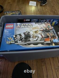 Lego Star Wars Cloud City (10123) Très Rare Inclus Tous Les Minifigs