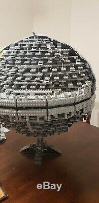 Lego Star Wars Death Star II 10143 Incomplète Set Description De Lecture Très Rare