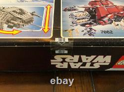 Lego Star Wars Motorized Walking At-at #10178. 1137pc. Très Rare. Scellé Dans La Boîte