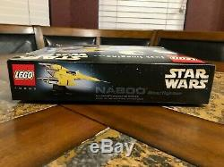 Lego Star Wars Naboo Star Fighter 10026 Ucs Collectionneurs Ultimes Série Très Rare