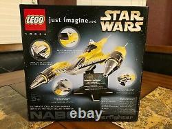 Lego Star Wars Naboo Star Fighter 10026 Ucs Nouveau Scellé Très Rare