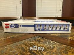 Lego Star Wars Republic Drop Ship Avec At-ot Walker 10195 Nouveau Très Rare