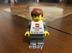 Lego Thomas Kirk Kristiansen Minifigure Nouveau Plus Rare Que M. Gold Sdcc Très Rare