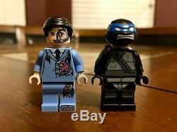 Lego Tmnt Ombre Leonardo Kraang Minifigures 2012 Nycc Exclusif Sdcc Très Rare