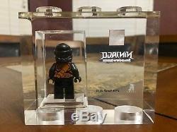 Lego Tt Games Trophy Brique Ninjago Cole Sdcc Plus Rare Que M. Gold Très Rare