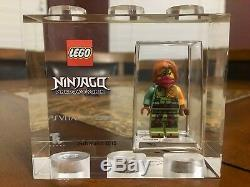 Lego Tt Games Trophy Brique Ninjago Ronin Sdcc Plus Rare Que M. Gold Très Rare