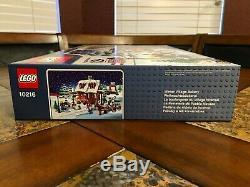 Lego Village D'hiver Vacances De Noël Bakery 10216 New Sealed Créateur Très Rare