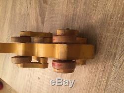 Lego Vintage Wood / Holz 1940 1950 Disney Pluto Très Rare