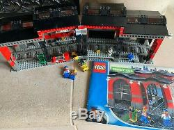Lego World City 10027 Train Shed 99,8% Complet, Très Rare