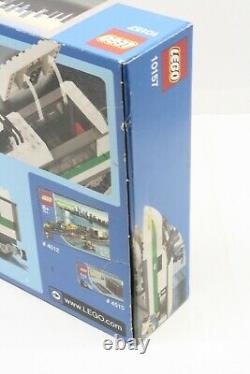 Lego World City 9v Locomotive De Train À Grande Vitesse (article# 10157) Nisb Très Rare