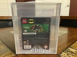 Lego Zebra Batman Mini Figure 2019 Sdcc San Diego Comic Con Afa 9.0 Très Rare
