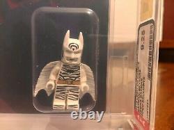 Lego Zebra Batman Mini Figure 2019 Sdcc San Diego Comic Con Afa 9.25 Très Rare