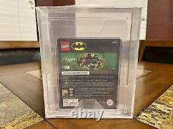 Lego Zebra Batman Mini Figurine 2019 Sdcc San Diego Comic Con Afa 9.0 Très Rare