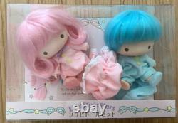Little Twin Stars Soft Vinyl Doll Set Kikilala Très Rare Sanrio Japon New Fs