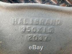 Lot De 2 Halibrand Magnésium Sprint Car Gasser Jantes De 15 X 3.5 Très Rare