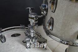 Ludwig Ensemble De Batterie Collectionneurs Blanc Marine Perle 100e Anniversaire Très Rare