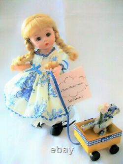 Madame Alexander La Petite Mademoiselle 8 Poupée Très Rare Doll Set