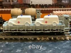 Marklin Spur Z Scale/gauge Swiss Freight Traffic Train Set. Très Rare