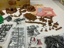 Marx Battleground 3 Sets 6017 18 & 19 Very Nice Sets Rare Noël Cadeaux