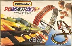 Matchbox Powertrack Plus Pp9000 Boucle Set Entièrement Restaurée Très Rare