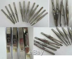 Médical Allemand Wwii Complet Instruments Chirurgicaux Set Aesculap Très Rare