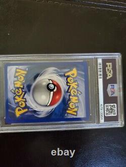 Mewtwo 1999 Pokemon Base Set Holo Shadowless Très Rare Psa Mint 9