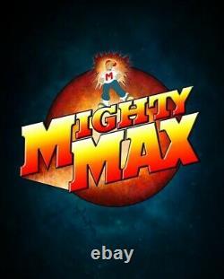 Mighty Max Bytes Cyber Skull 100% Complete Set Very Rare Lire La Description Ci-dessous