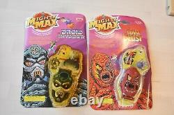 Mighty Max Horror Heads Ensemble De 8 Têtes Scellées Très Rare