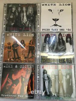 Mike Tramp The Bootleg Series Coffret CD White Lion Très Rare! Menthe