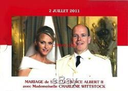 Monaco Bu 2011, Un Ensemble Complet 1ct À 2! Seulement 7 000 Monnayage Tres Rare
