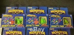 Monstre Très Rare Dans Mon Pocket Edition Limitée Couleurs Chaudes! Complete Set Boxed
