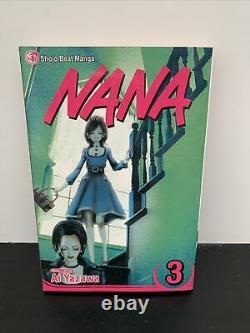 Nana Manga English Set Lot 1-4 Shojo Battre Rare Et Très Difficile À Trouver Ai Yazawa
