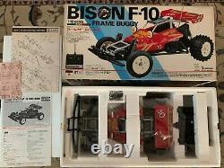 Nikko Bison F10 Nouveau In Box Japan Version Very Rare Vintage 1986 Full Set
