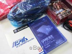 Nintendo Gamecube Char Box Gundam Limited Edition Set Complet Très Rare Gc Wii