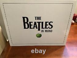 Nouveau Coffret En Vinyle Mono Beatles/un Très Rare Coffret