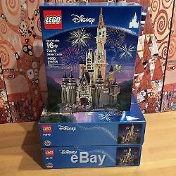 Nouveau Lego 71040 Château Disney Du Monde Cendrillon Set Misb Scellé In-main Tres Rare